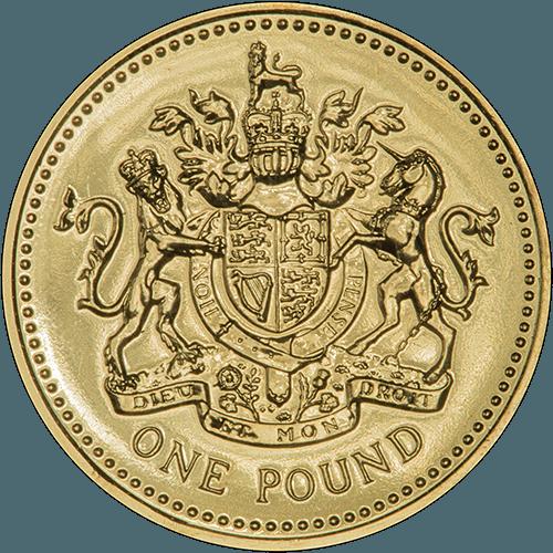 One Pound Coin Designs 1983