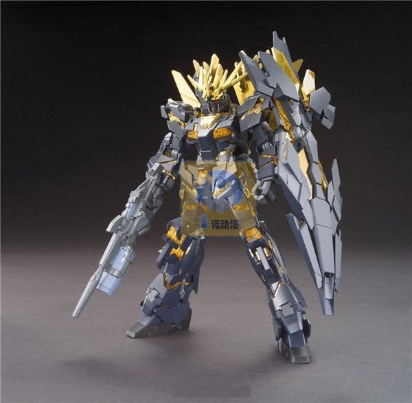 Original Hg 1 144 Gundam Model Rx 0 Full Unicorn Gundam 02 Banshee