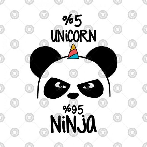 Pandacorn 5  Unicorn 95  Ninja