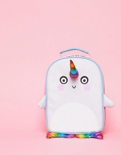 Paperchase Kawaii Cool Narwhal Lunch Bag