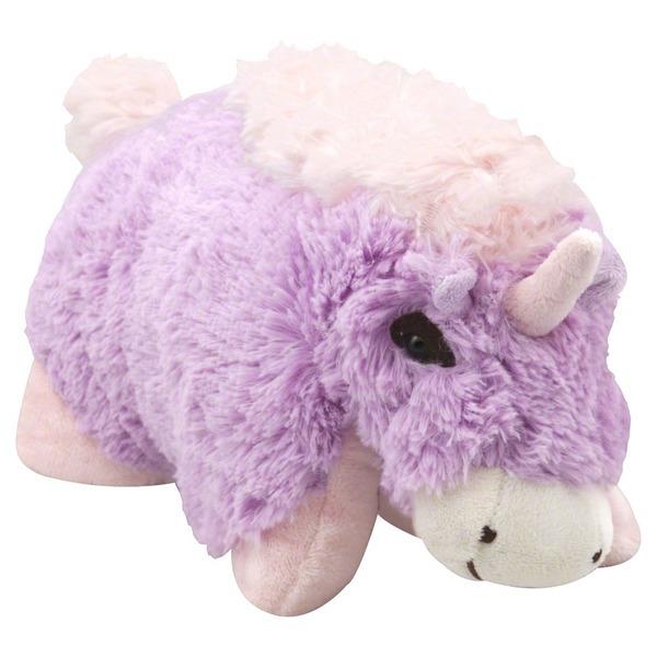 Pillow Pets Stuffed Animal, Plush Folding, Magical Unicorn (1 Ct