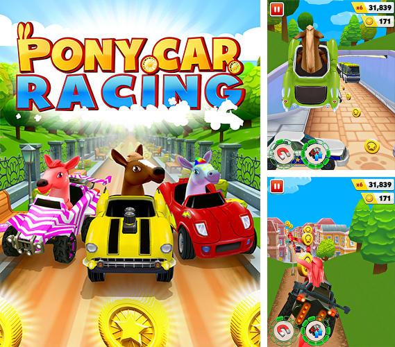 Pony Craft Unicorn Car Racing  Pony Care Girls For Android