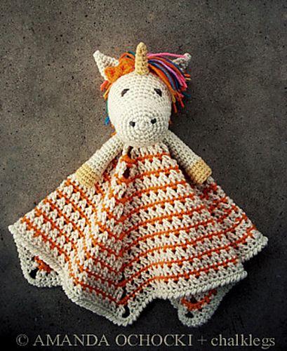 Ravelry  Chalklegs' Unicorn Lovey Pattern  Unicorn Lovey By Briana
