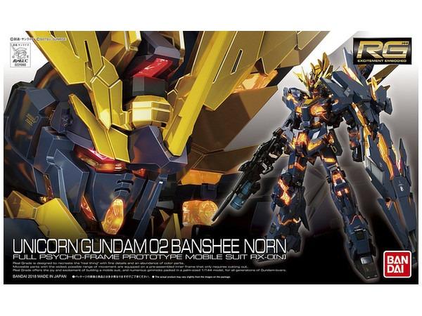 Real Grade, Rg 27 Unicorn Gundam 02 Banshee Norn