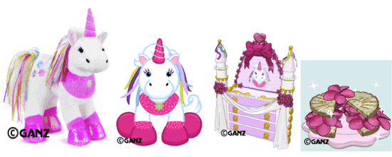 Ribbon Unicorn Pet Specific Item And Pet Specific Food Revealed