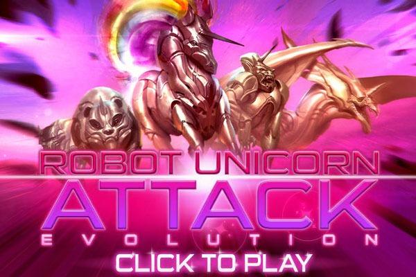 Robot Unicorn Attack Evolution