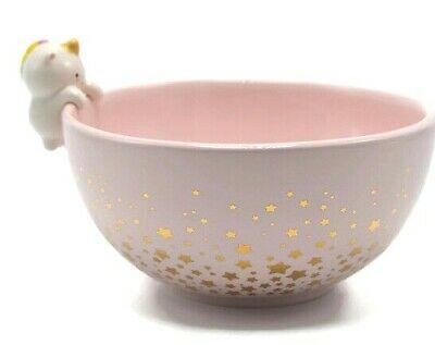 Smoko Elodie Unicorn Bowl Kitchen Dishware Cute Pink Dish Starry