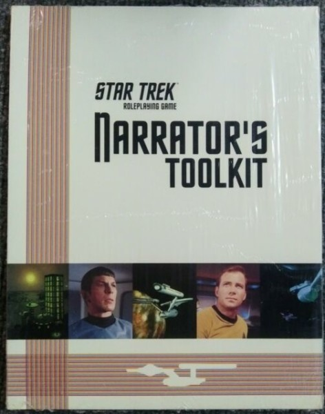 Star Trek Rpg Narrator's Toolkit Trade Book Last Unicorn Isbn