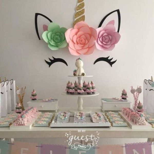 Sweet Unicorn Dessert Table, Home Services, Others On Carousell