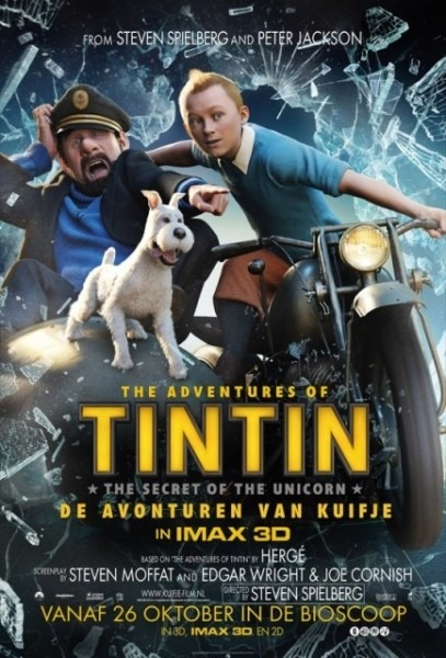 The Adventures Of Tintin  The Secret Of The Unicorn Movie Poster