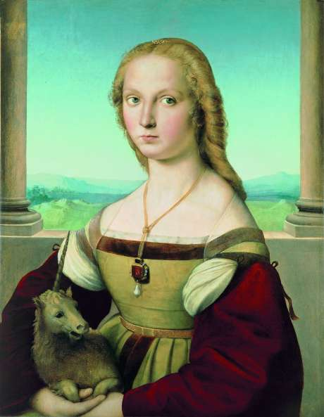 The Enigma Of 'portrait Of A Lady With A Unicorn'