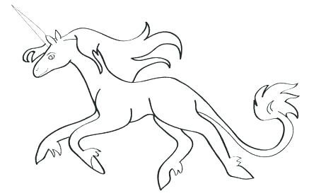 The Last Unicorn Coloring Pages Printable