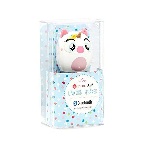 Thumbs Up Kids Unicorn Portable Bluetooth Speaker  Thumbs Up