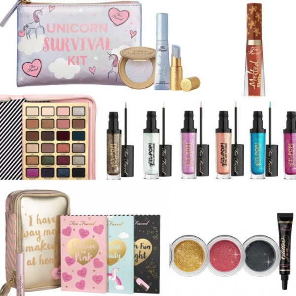 Too Faced Holiday 2017 Collection (including Ulta + Sephora