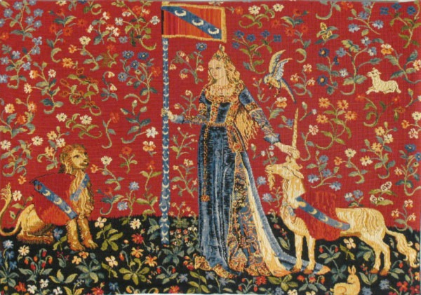 Touch Small Tapestry