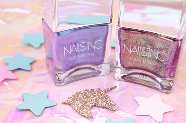 Treatyoself With The Nails Inc Sparkle Like A Unicorn Duo