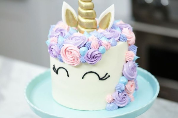 Unicorn Cake By Rosanna Pansino   Nerdy Nummies An Easy Funfetti