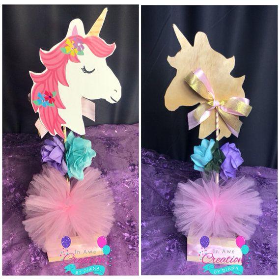 Unicorn Centerpiece ,it's A Girl Unicorn Centerpiece,unicorn