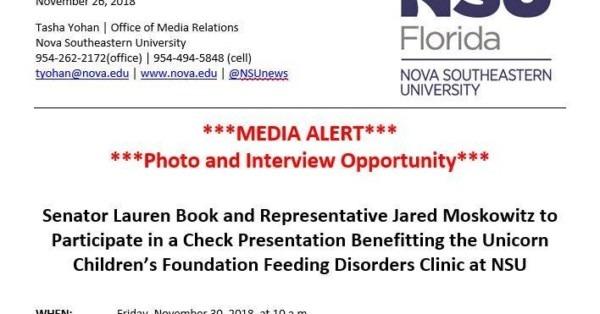 Unicorn Children's Foundation  Senator Lauren Book And