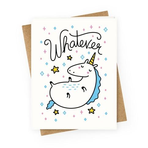 Unicorn Design Greeting Cards