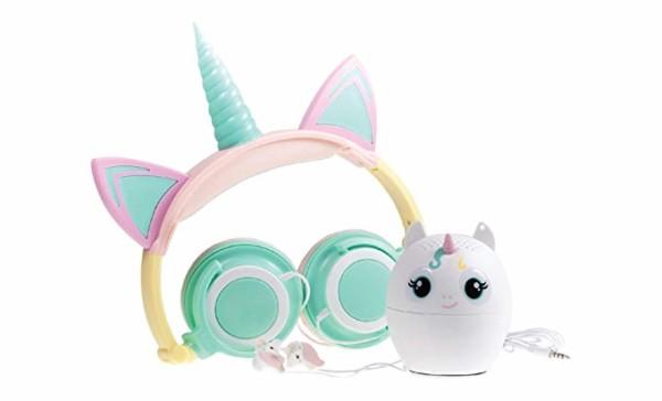 Unicorn Headphones, Bluetooth Speaker, & Earbuds