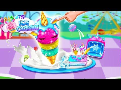 Unicorn Ice Cream Cone – Cone Dessert Maker