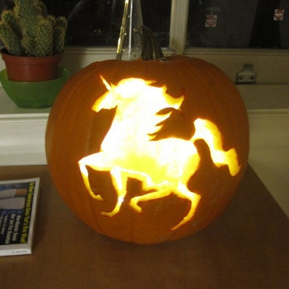 Unicorn Jack O Lantern Patterns Stencils Templates