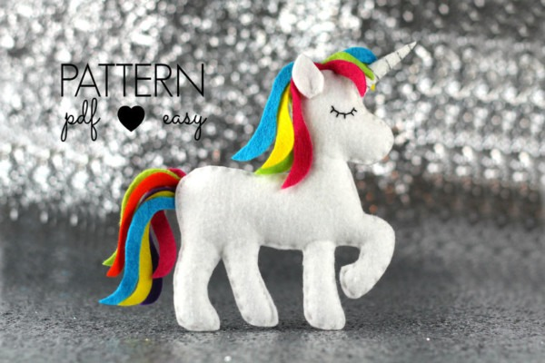 Unicorn Sewing Pattern