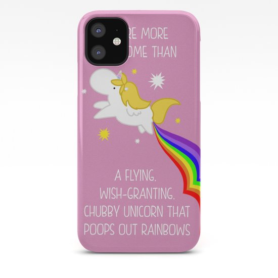 Unicorn Spells Love Iphone Case By Afropig