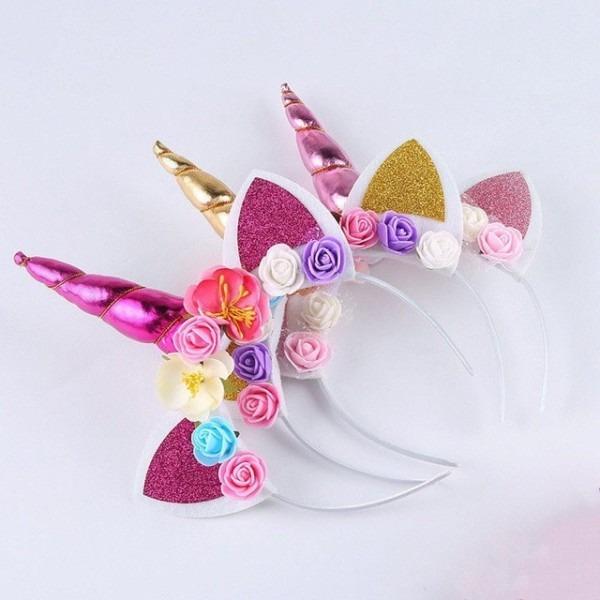 Us Kids Girl Baby Unicorn Horn Headband Hair Band Accessories