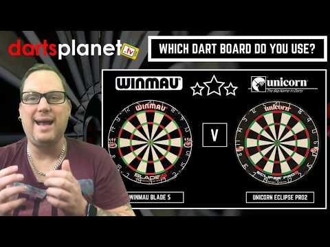 Winmau V Unicorn Dartboard Debate