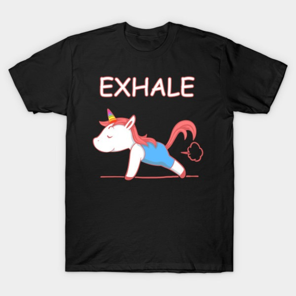 Yoga Unicorn Exhale