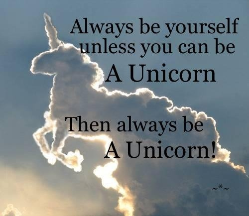 You Can Be Anything You Want In Life… Except, Maybe, A Unicorn