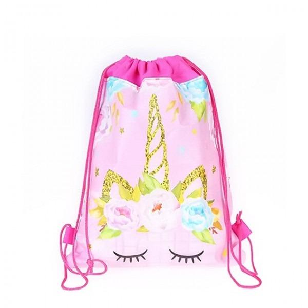 1pc Wholesale Unicorn Theme Gift Bag Party Decorations Baby Happy