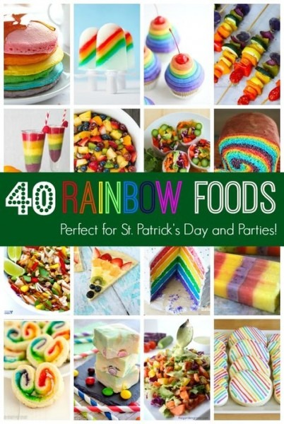 30 Sweet And Savory Rainbow Foods For St  Patrick's Day