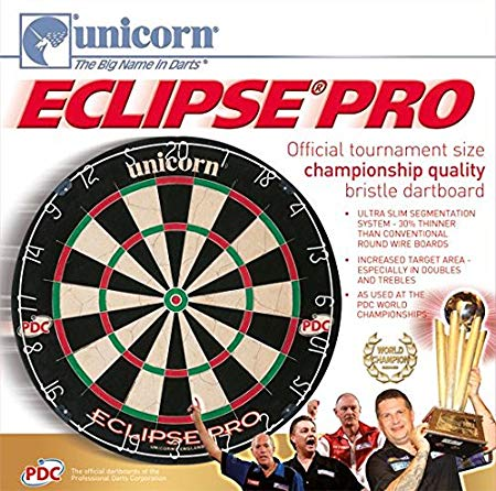 Amazon Com   Unicorn Eclipse Pro Dart Board With Ultra Slim