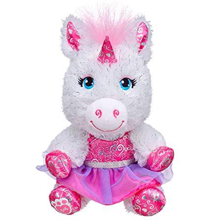 Amazon Com  Build A Bear Buddies Pawrincess Unicorn 7 In  Plush