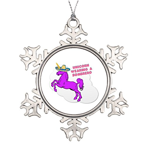 Amazon Com  Butter Tisse Xmas Trees Decorated A Unicorn Wearing A