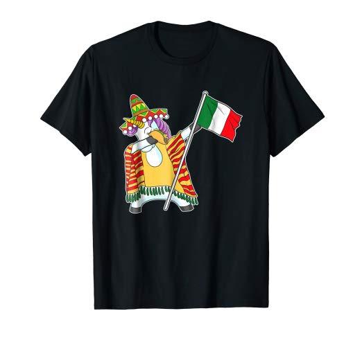 Amazon Com  Funny Dabbing Unicorn Cinco De Mayo Shirt