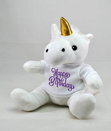 Amazon Com  Kelly Toy 10  Plush Happy Birthday Unicorn ,party