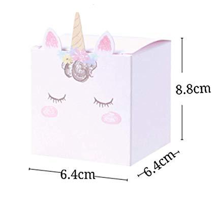 Amazon Com  Meizoken Diy Unicorn Candy Box Wedding Favors And