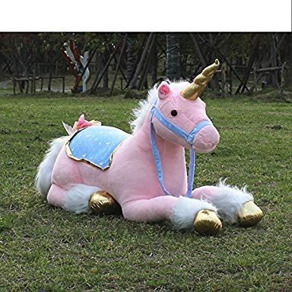Amazon Com  Nikkycozie Pink 85 Cm Jumbo Unicorn Giant Plush Fairy
