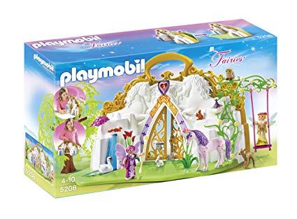 Amazon Com  Playmobil® Take Along Unicorn Fairy Land Playset  Toys