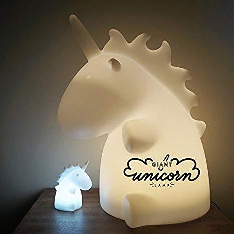 Amazon Com  Smoko Giant Unicorn Lamp  Home & Kitchen