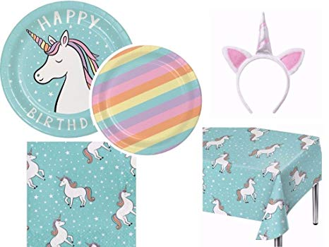Amazon Com  Spritz Unicorn Ultimate Party Bundle For 16 Including