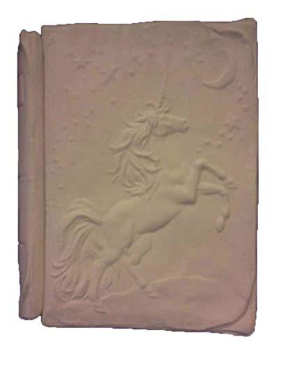 Amazon Com  Unicorn Book Box 6  X 5  X 2  Ceramic Bisque, Ready To