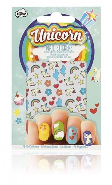 Amazon Com  Unicorn Nail Stickers  Beauty