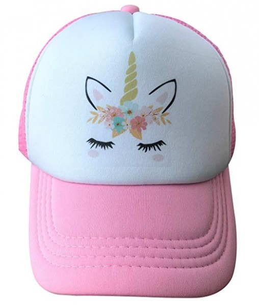 Amazon Com  Unicorn Trucker Hat For Kids Girls