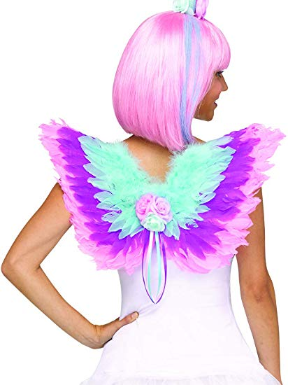 Amazon Com  Women's Sassy Unicorn Wings Costume Accessory Kit