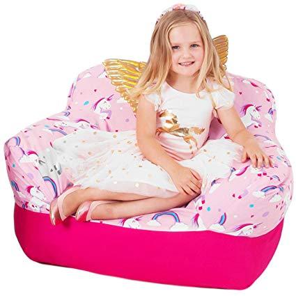 Amazon Com  Yayme! Pink Unicorn Kids Stuffed Animal Storage Bean